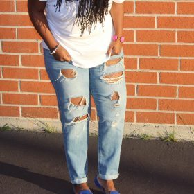 Women's Baggy & Boyfriend Jeans