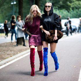 Women's High Leg Boots