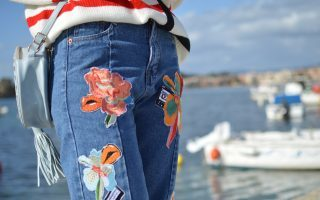 How To Style: Patched Jeans