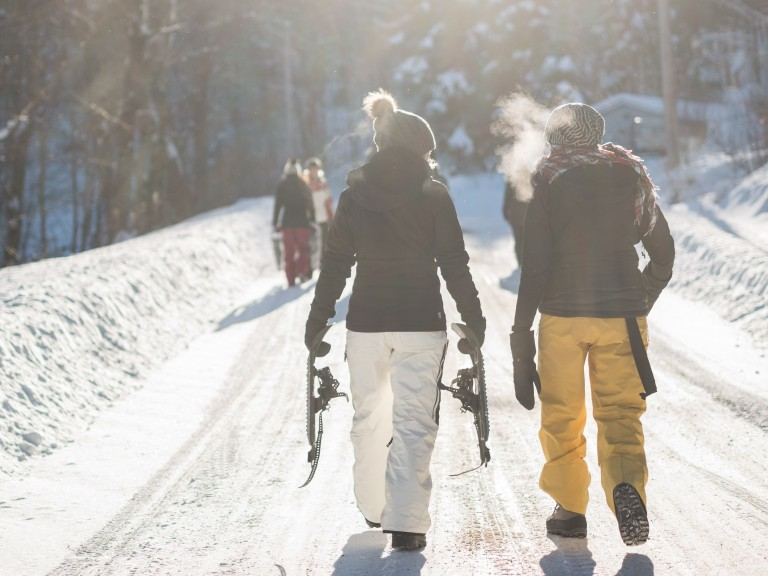 How To Ski In Style
