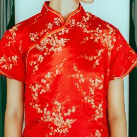 Red Chinese New Year Outfits For Luck
