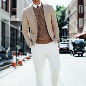 Male Preppy x Casual Style