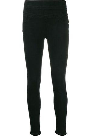 Patrizia Pepe Embroidered logo skinny jeans