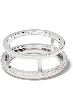 De Beers 18kt The Horizon diamond ring
