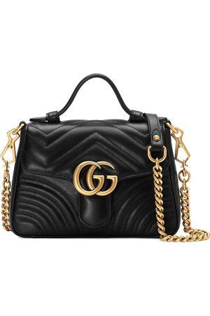 Gucci Women Handbags - GG Marmont mini top handle bag