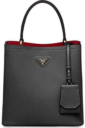 Prada Women Tote Bags - Double Saffiano leather tote