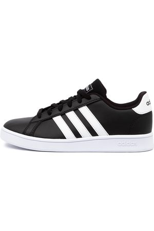 adidas Grand Court K Jnr Shoes Girls Shoes Casual Flat Shoes