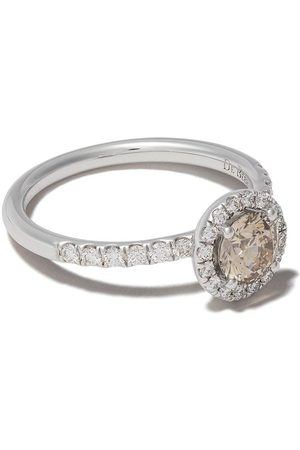 De Beers Women Rings - 18kt Aura fancy coloured diamond ring