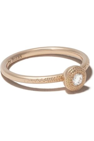 De Beers 18kt Talisman round brilliant diamond ring