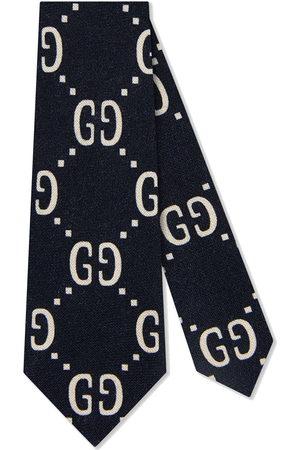 Gucci GG logo tie