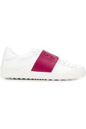 VALENTINO Men Sneakers - Garavani striped lace-up sneakers
