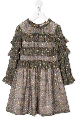 Velveteen Luna party dress