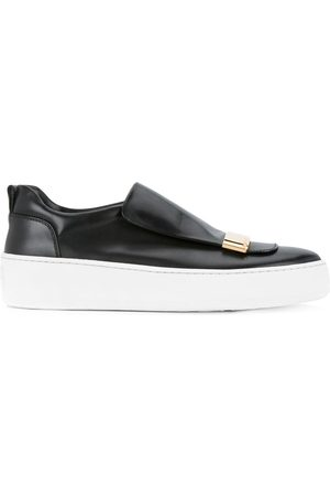 Sergio Rossi Plaque detail slip-on sneakers