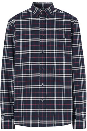 Burberry Men Business - Checked slim-fit shirt