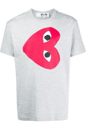 Comme des Garçons Men Short Sleeve - Heart print t-shirt