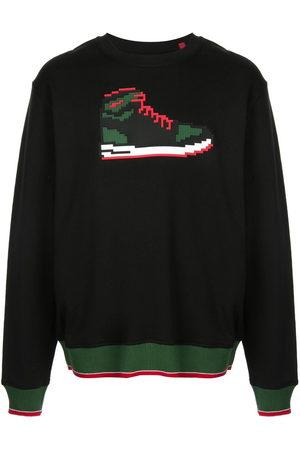 MOSTLY HEARD RARELY SEEN Men Sweatshirts - Red Sneak sweatshirt