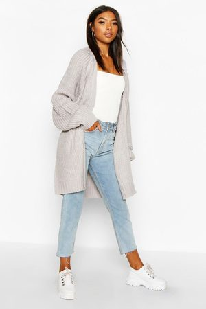 Boohoo Tall Chunky Fisherman Knit Cardigan