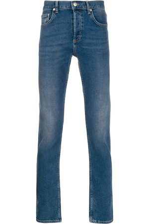 Sandro Slim-fit stonewashed jeans