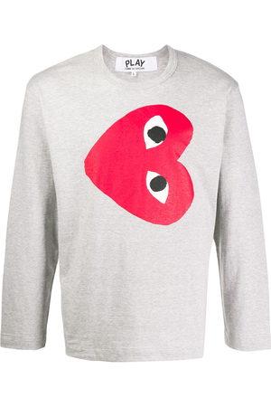 Comme des Garçons Men Sweatshirts - Heart print sweatshirt