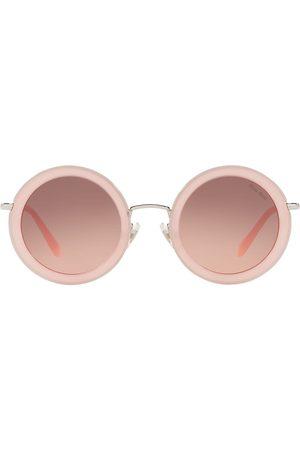 Miu Miu Women Sunglasses - Délice round.frame sunglasses