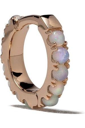 White Bird 18kt opal Ismène hoop single earring