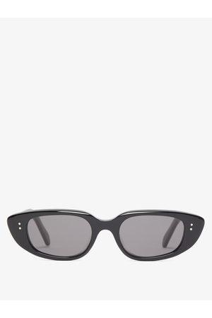 Céline Oval Acetate Sunglasses - Womens