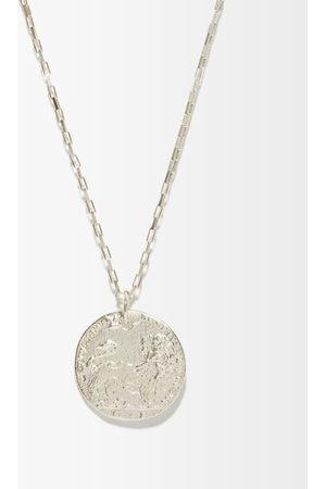 Alighieri The Snow Lion Sterling- Necklace - Mens