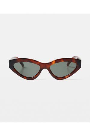 Le Specs Synthcat Sunglasses Tortoise