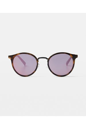 Le Specs Tornado Sunglasses Milky Tort/mirror