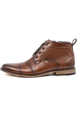 Davinci Joffa Da Tan Boots Mens Shoes Ankle Boots