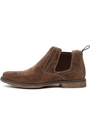 Colorado Denim Men Casual Shoes - C Mills Taupe Boots Mens Shoes Casual Ankle Boots