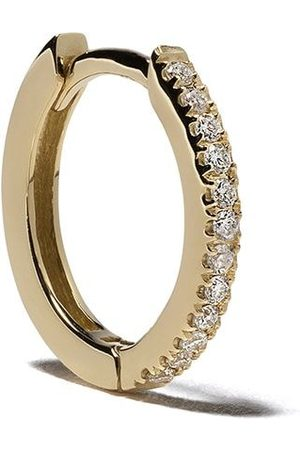 White Bird Women Earrings - 18kt yellow diamond Margot large hoop earring