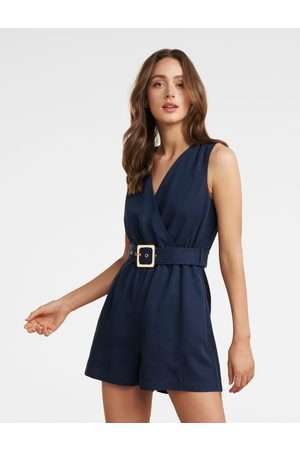 Forever New Asher Wrap Playsuit