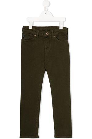 Emporio Armani Boys Straight - Mid-rise straight leg denim jeans