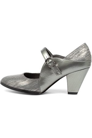 I LOVE BILLY Craving Pewter Shoes Womens Shoes Dress Heeled Shoes
