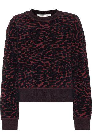 Diane von Furstenberg Cassia cotton-blend sweater