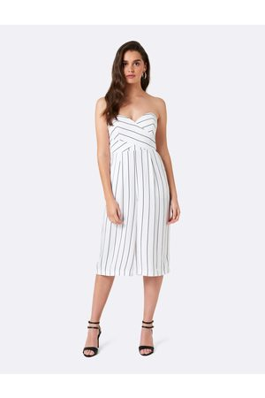 Forever New Women Jumpsuits - Sophia Striped Culotte Jumpsuit