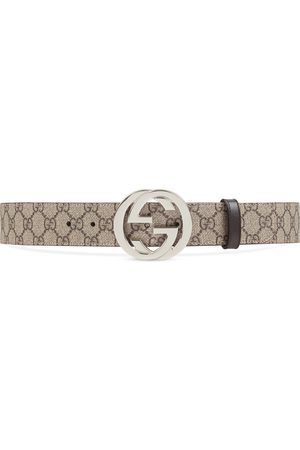 Gucci GG Supreme belt with G buckle