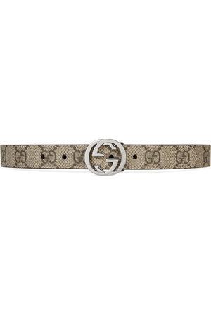 Gucci Children's GG Supreme belt