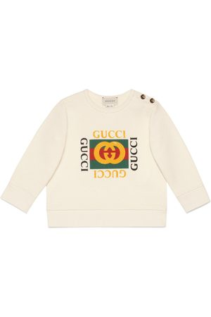 Gucci Baby sweatshirt with logo