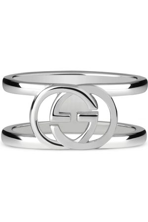 Gucci Wide ring with interlocking G motif