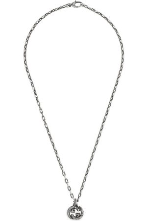 Gucci Women Necklaces - Silver necklace with Interlocking G