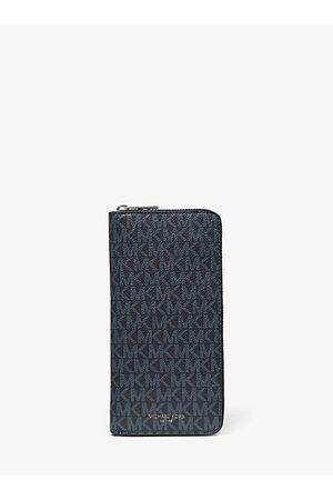 Michael Kors Greyson Logo Zip-Around Wallet