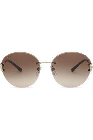 Bvlgari Bv6091 round-frame sunglasses