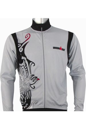 Ironman Activewear Ironman Long Sleeve Unisex Cycle Jersey - /