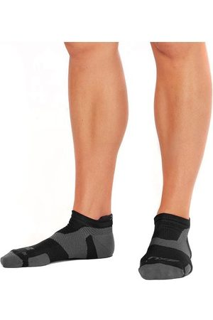 2XU Vectr Light Cushion No Show - Unisex Running Socks - /Titanium