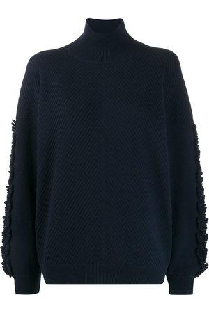 Barrie Textured sleeves detail jumper