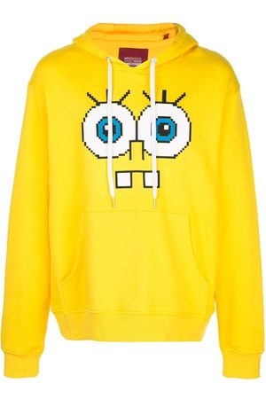 MOSTLY HEARD RARELY SEEN Snaggle Teeth motif hoodie