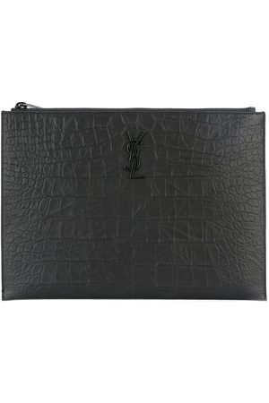 Saint Laurent Monogram zip pouch