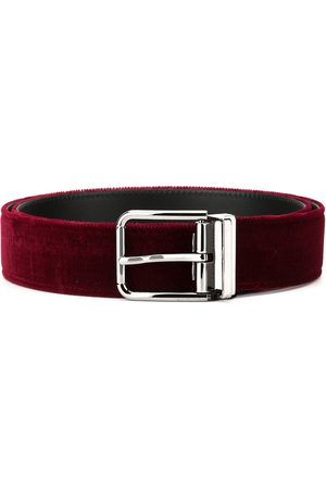 Dolce & Gabbana Men Belts - Velvet belt